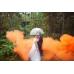 Цветной дым в Краснодаре (Оранжевый)