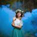 Цветной дым happy family 120 секунд синего цвета в Краснодаре