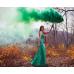 Цветной дым в Краснодаре (Зеленый)