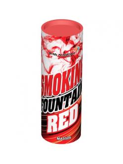 Цветной дым в Краснодаре (Красный)