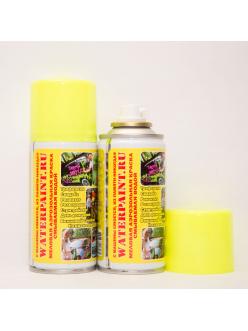 Меловая смываемая краска waterpaint желтого цвета в Краснодаре